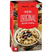 H-E-B Select Ingredients Instant Original Oatmeal