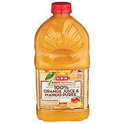 H-E-B Select Ingredients It's Juice Orange Juice Mango Puree