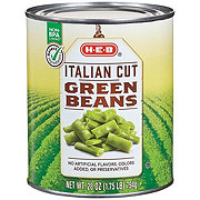 H-E-B Select Ingredients Italian Cut Green Beans