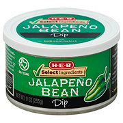 H-E-B Select Ingredients Jalapeno Bean Dip