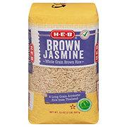 H-E-B Select Ingredients Jasmine Brown Rice