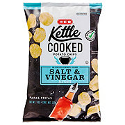 H-E-B Select Ingredients Kettle Cooked Salt & Vinegar Potato Chips