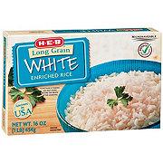 H-E-B Select Ingredients Long Grain White Enriched Rice