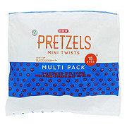 H-E-B Select Ingredients Low Fat Mini Twists Pretzel Multipack