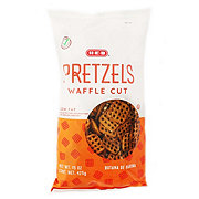 H-E-B Select Ingredients Low Fat Waffle Cut Pretzels