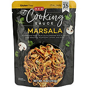 H-E-B Select Ingredients Marsala Sauce Cooking Sauce