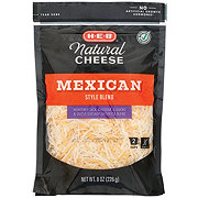 H-E-B Select Ingredients Mexican Blend Fancy Shredded Cheese