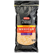 H-E-B Select Ingredients Mexican Blend Fancy Shredded Cheese Value Pack