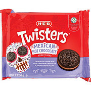 H-E-B Select Ingredients Mexican Hot Chocolate Twisters Cookies