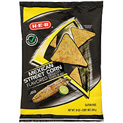 H-E-B Select Ingredients Mexican Street Corn Flavored Tortilla Chips