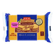 H-E-B Select Ingredients Mild Cheddar Cheese