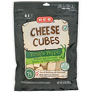 H-E-B Select Ingredients Mild Cheddar Monterey Jack Cubed Cheese Blend