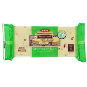 H-E-B Select Ingredients Monterey Jack Cheese With Jalapeno Peppers
