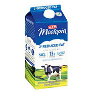 H-E-B Select Ingredients MooTopia Lactose Free 2% Reduced Fat Milk