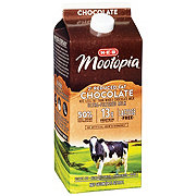 H-E-B Select Ingredients MooTopia Lactose Free Chocolate 2% Reduced Fat Milk