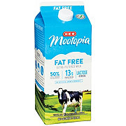 H-E-B Select Ingredients MooTopia Lactose Free Fat Free Milk