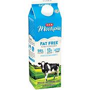 H-E-B Select Ingredients MooTopia Lactose Free Fat Free Milk