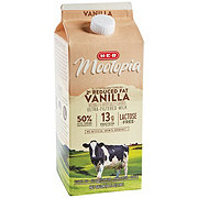 H-E-B Select Ingredients MooTopia Lactose Free Vanilla 2% Reduced Fat Milk