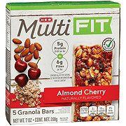 H-E-B Select Ingredients Multi Fit Almond Cherry Granola Bars