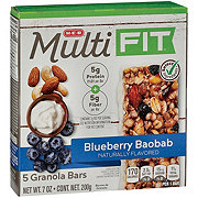 H-E-B Select Ingredients Multi Fit Blueberry Baobab Granola Bars