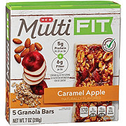 H-E-B Select Ingredients Multi Fit Caramel Apple Granola Bars