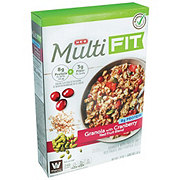 H-E-B Select Ingredients Multi Fit Granola with Cranberry Red Fruit Blend
