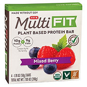 H-E-B Select Ingredients Multi Fit Mixed Berry Plant Based Protein Bars