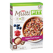 H-E-B Select Ingredients Multi Fit Super Fruit Muesli