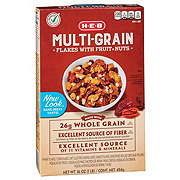 H-E-B Select Ingredients Multi-Grain Flakes with Fruits & Nuts Cereal