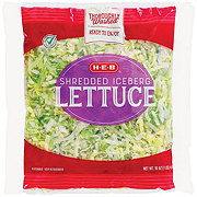 H-E-B Select Ingredients Shredded Lettuce