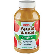 H-E-B Select Ingredients Original Apple Sauce