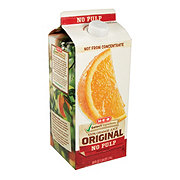 H-E-B Select Ingredients Original No Pulp Orange Juice