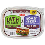 H-E-B Select Ingredients Oven Roasted Turkey Breast and Roast Beef