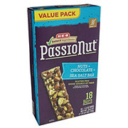 H-E-B Select Ingredients Passionut Nuts Chocolate Sea Salt Bars Value Pack