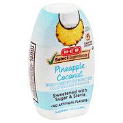 H-E-B Select Ingredients Pineapple Coconut Drink Enhancer