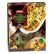 H-E-B Select Ingredients Poblano Lasagna with Chicken