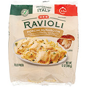 H-E-B Select Ingredients Porcini Mushroom Ravioli