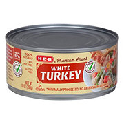H-E-B Select Ingredients Premium Chunk Turkey in Water