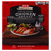 H-E-B Select Ingredients Premium Hand Carved Boneless Skinless Chicken Breast