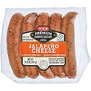 H-E-B Select Ingredients Premium Jalapeno Cheddar Smoked Sausage