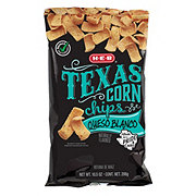 H-E-B Select Ingredients Queso Blanco Texas Corn Chips