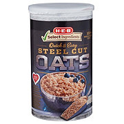 H-E-B Select Ingredients Quick & Easy Steel Cut Oats