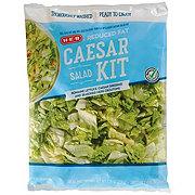 H-E-B Select Ingredients Reduced Fat Caesar Salad Kit