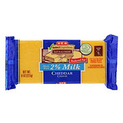 H-E-B Select Ingredients Reduced Fat Cheddar Cheese