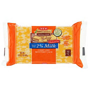 H-E-B Select Ingredients Reduced Fat Colby Jack Cheese