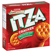 H-E-B Select Ingredients Reduced Fat ITZ-A Crackers