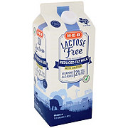 H-E-B Select Ingredients Reduced Fat Lactose Free 2% Milkfat Milk