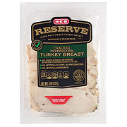 H-E-B Select Ingredients Reserve Cracked Peppercorn Turkey Breast