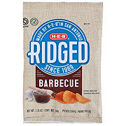 H-E-B Select Ingredients Ridged BBQ Chips