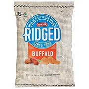 H-E-B Select Ingredients Ridged Buffalo Potato Chips